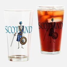 Braveheart black Drinking Glass
