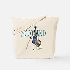 Braveheart white Tote Bag