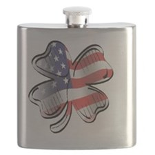 large US Flag copy Flask