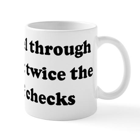 Bills travel through the mail Mug