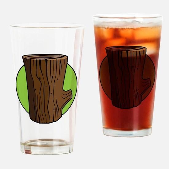 Log Drinking Glass