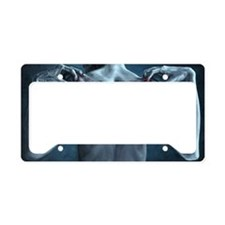 In Absentia License Plate Holder
