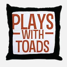 playstoads Throw Pillow