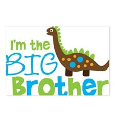 DinosaurImTheBigBrother Postcards (Package of 8)