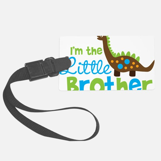 DinosaurImTheLittleBrother Luggage Tag