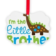 DinosaurImTheLittleBrother Ornament