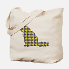 Angora With Fishes Tote Bag