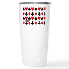 PlayingCardsCOINPURSE Travel Mug
