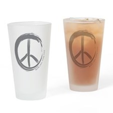 PEACE Wag final Drinking Glass