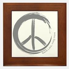 PEACE Wag final Framed Tile