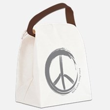 PEACE Wag final Canvas Lunch Bag