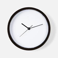 PEACE Wag final WHT Wall Clock