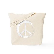 PEACE Wag final WHT Tote Bag