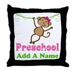 Personalized Preschool Throw Pillow