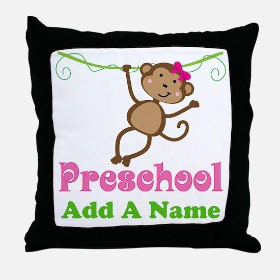 Personalized Preschool Throw Pillow