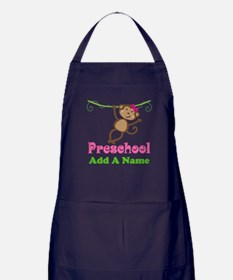 Personalized Preschool Apron (dark)