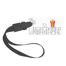 The Home Brewer Ale Luggage Tag
