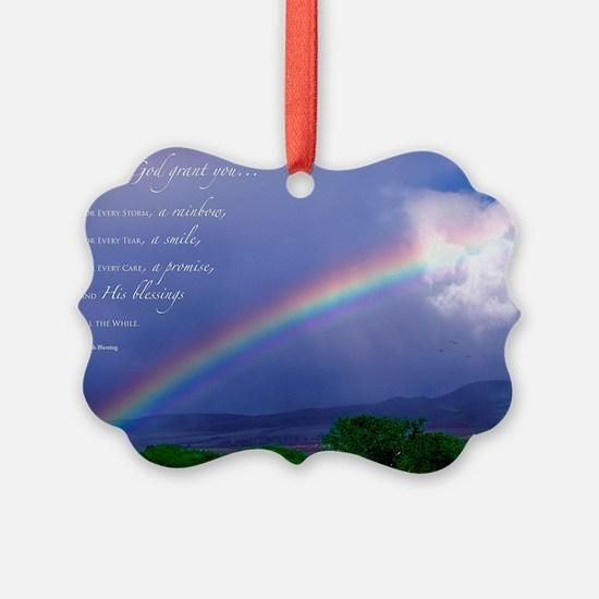 Rainbow Blessing Ornament