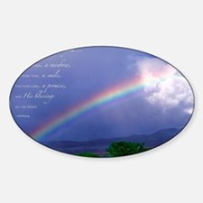 Rainbow Blessing Decal