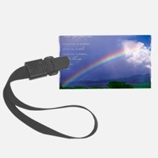 Rainbow Blessing Luggage Tag