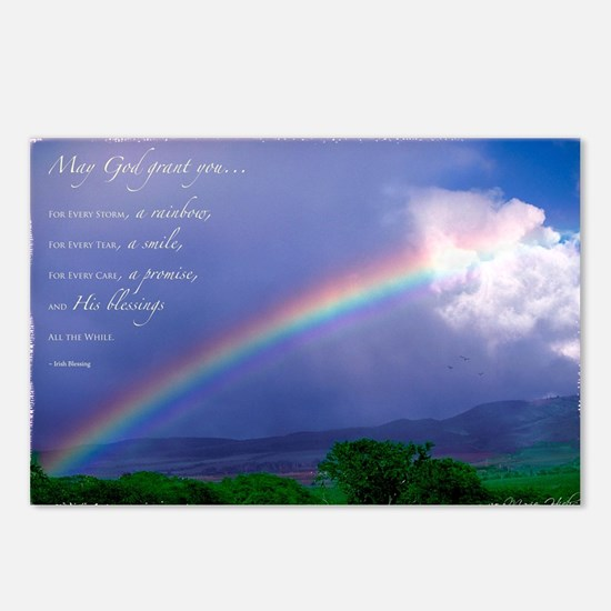 Rainbow Blessing Postcards (Package of 8)