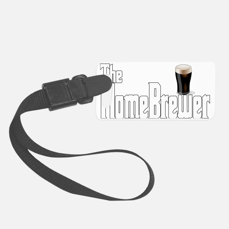 The Home Brewer Stout Luggage Tag
