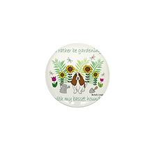 BassetHound Mini Button