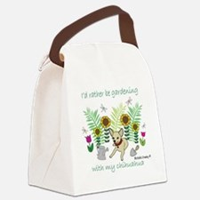 ChihuahuaFawn Canvas Lunch Bag