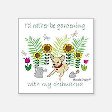 """ChihuahuaFawn Square Sticker 3"""" x 3"""""""