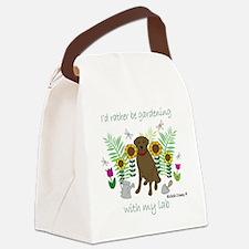 LabChoco Canvas Lunch Bag