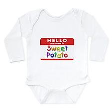 Sweet Potato Infant Creeper Body Suit