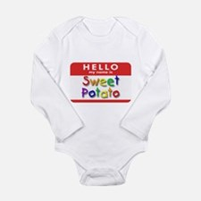 Sweet Potato Infant Creeper Body Suit