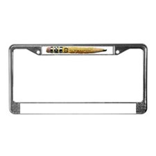StoriadPencilTrans(horizontal) License Plate Frame