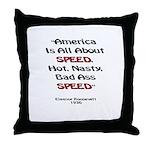 Taladega Throw Pillow