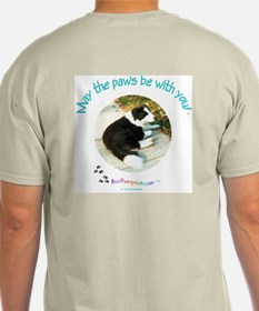 """""""Doncha Love Dogs!"""" Hanes Tagless T in ash grey"""