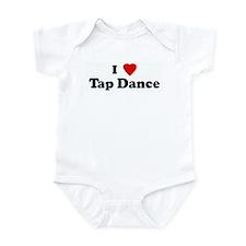 I Love Tap Dance Infant Bodysuit