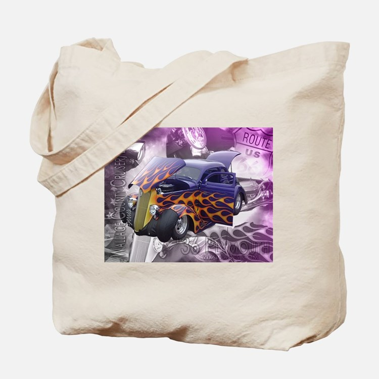 1936 Plymouth wccbs Series Tote Bag