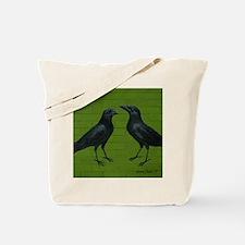 CrowsGreenBricks Tote Bag