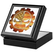 skullflag Keepsake Box