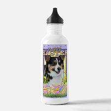 EasterEggCookiesCorgi Water Bottle