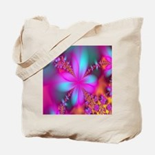 fractal-flowers2-showercurtain Tote Bag