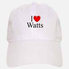 """I Love Watts"" Baseball Baseball Cap"
