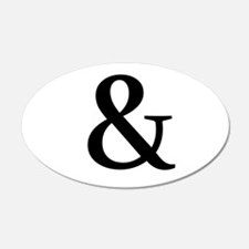 Black Ampersand Wall Decal