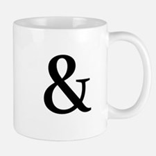 Black Ampersand Mugs