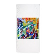 Cool Arty Design Beach Towel