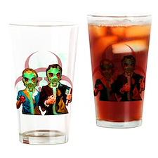 Gas-mask-Kid-tshirt Drinking Glass