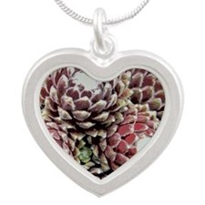IMGP5787-stylized-tile Silver Heart Necklace