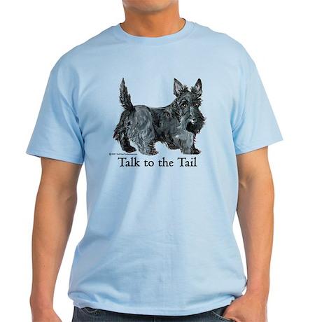 Scottish Terrier Attitude Light T-Shirt