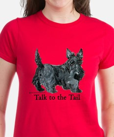 Scottish Terrier Attitude Tee