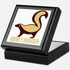 Honey Badger Keepsake Box
